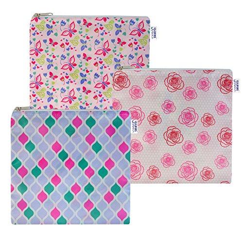 Cloth Sandwich Bags - Set of 3 - Yummi Pouch (Fab)