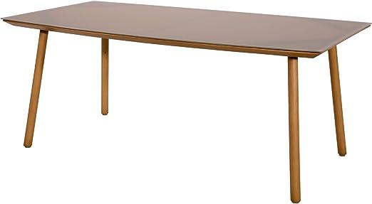 Table de jardin Table Café Table Lodge en aluminium ...