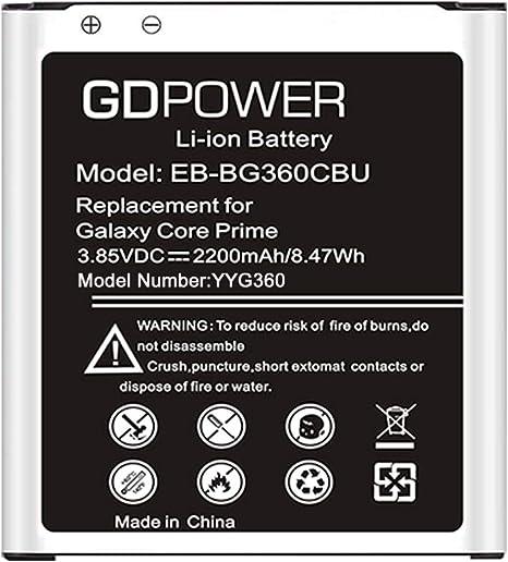 PC Parts Unlimited EB-BG360CBU Battery Computers & Accessories ...