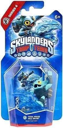 Skylanders: Trap Team - Figura Single Tidal Wave Gill Grunt: Amazon.es: Videojuegos