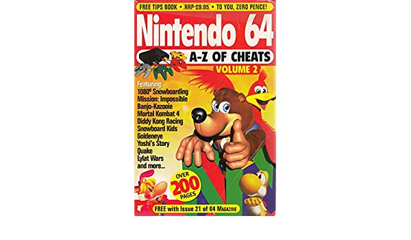 Nintendo 64: v  2: A-Z of Cheats: Andy McDermott, etc