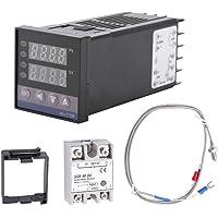 Smart Thermostaat Kit-0 ℃ ~ 1300 ℃ Alarm REX-C100 Digitale LED PID Temperatuur Controller Kits AC110V-240V