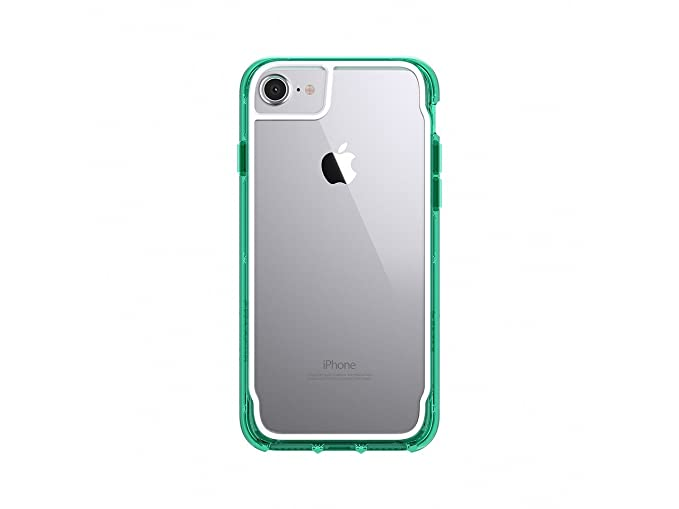 premium selection db459 793c2 Griffin Survivor Clear for iPhone 7, Clear/Green - See-Through  Drop-Protection in an Ultra-Thin case That Lets Your iPhone 7 Shine Through.