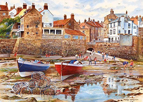 (Robin Hood's Bay - Terry Harrison - 1000 Piece Jigsaw Puzzle by Gibsons)