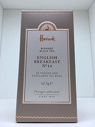 Harrods, No. 14 Desayuno Inglés Té (20 bolsitas de té ...