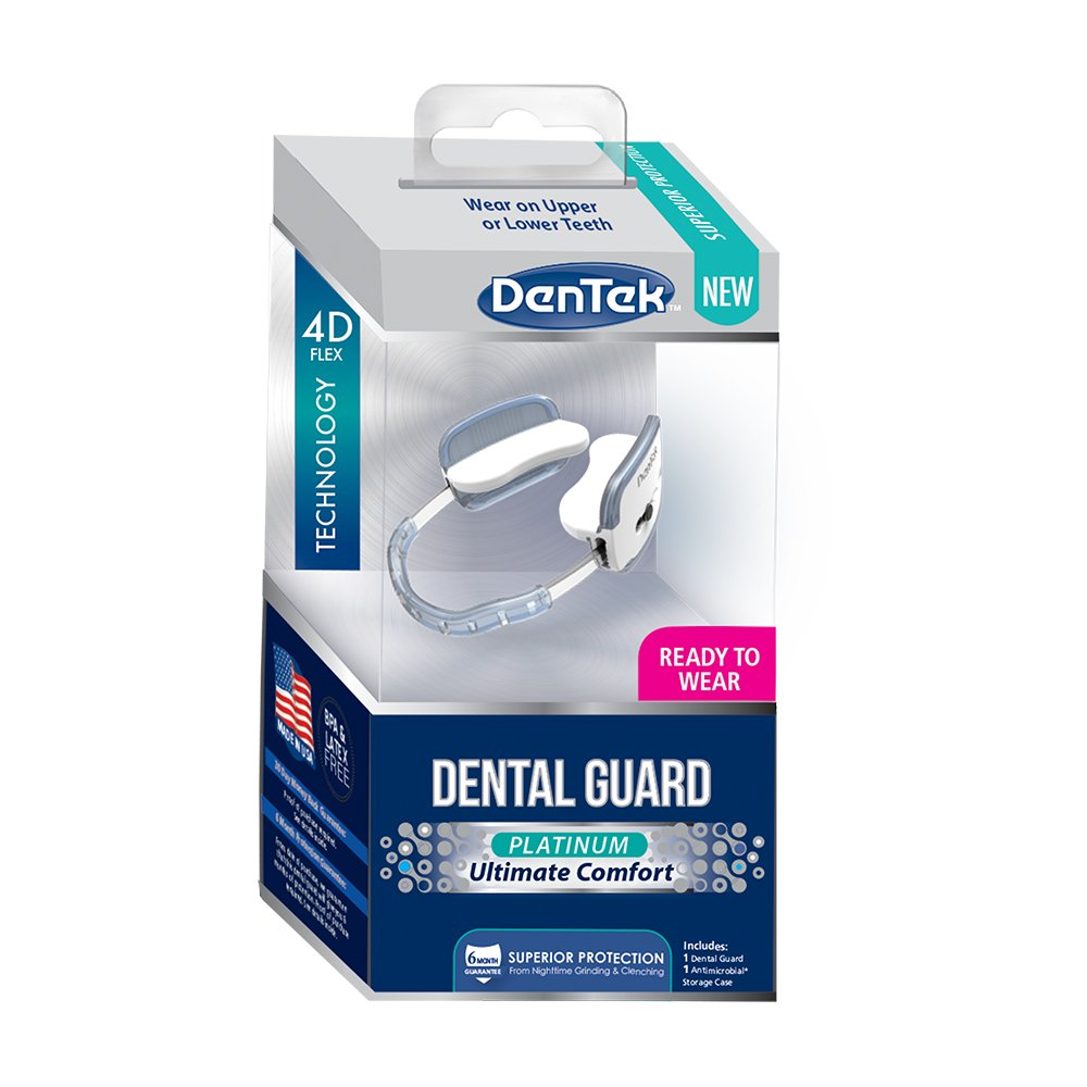DenTek Platinum Ultimate Comfort Dental Guard   For Nighttime Teeth Grinding
