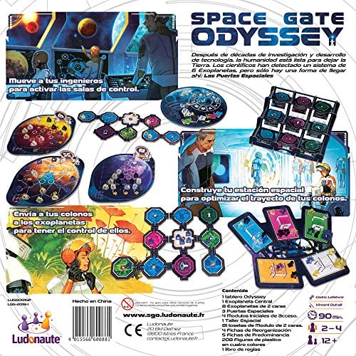 Space Gate Odyssey Board Game Toys Games Modern Manufacture
