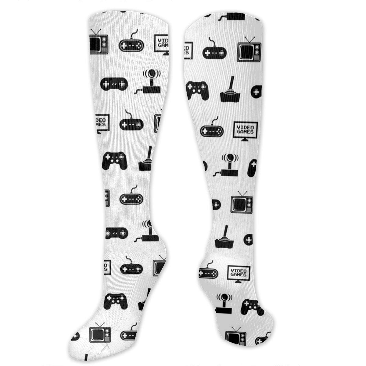 Amazon com: Video Games Compression Socks for Women and Men