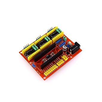 CNC Shield V4 Máquina de grabado Controlador de motor paso a paso ...
