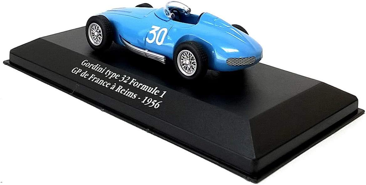 Gordini type 32 Formule 1 GP France 1:43 Atlas MODELLAUTO CAR MINIATUR G008