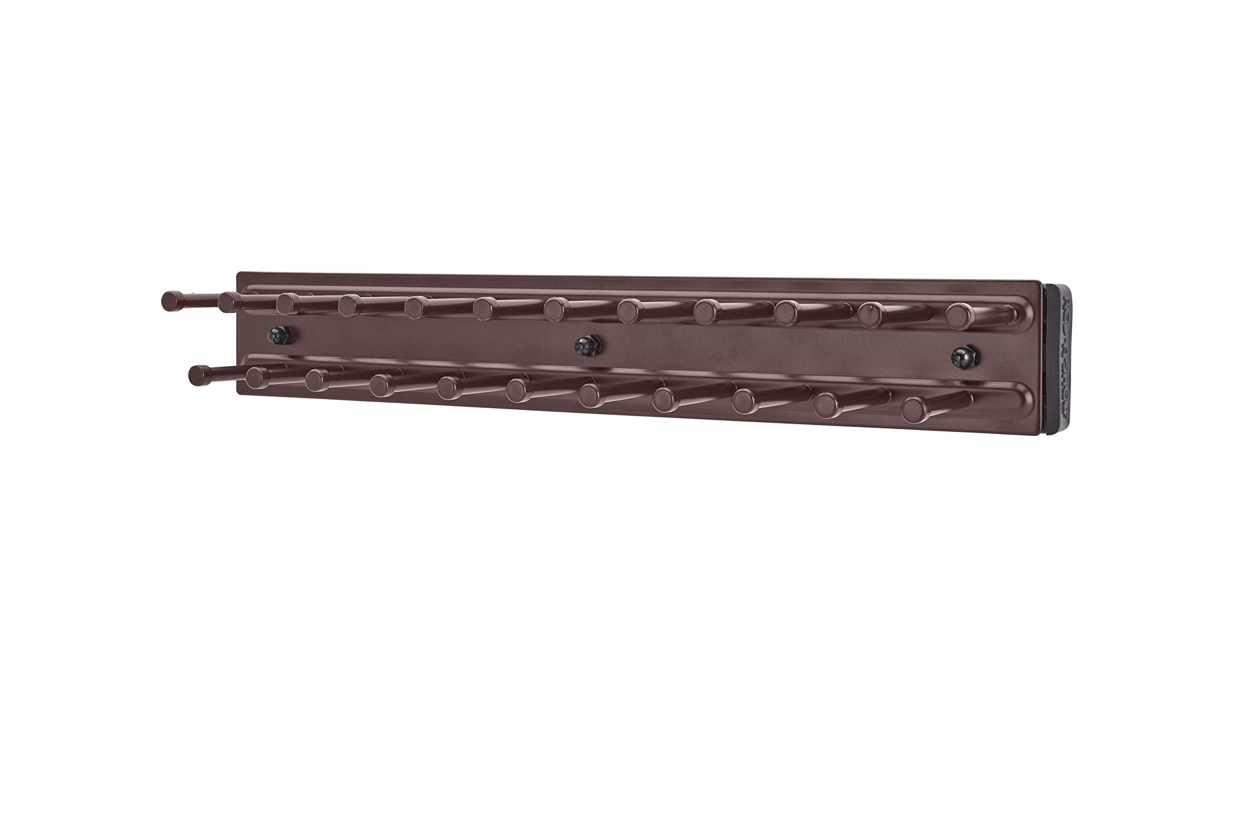 Rev-A-Shelf - TRC-12ORB - 12 in. Oil Rubbed Bronze Pull-Out Side Mount Tie Rack by Rev-A-Shelf