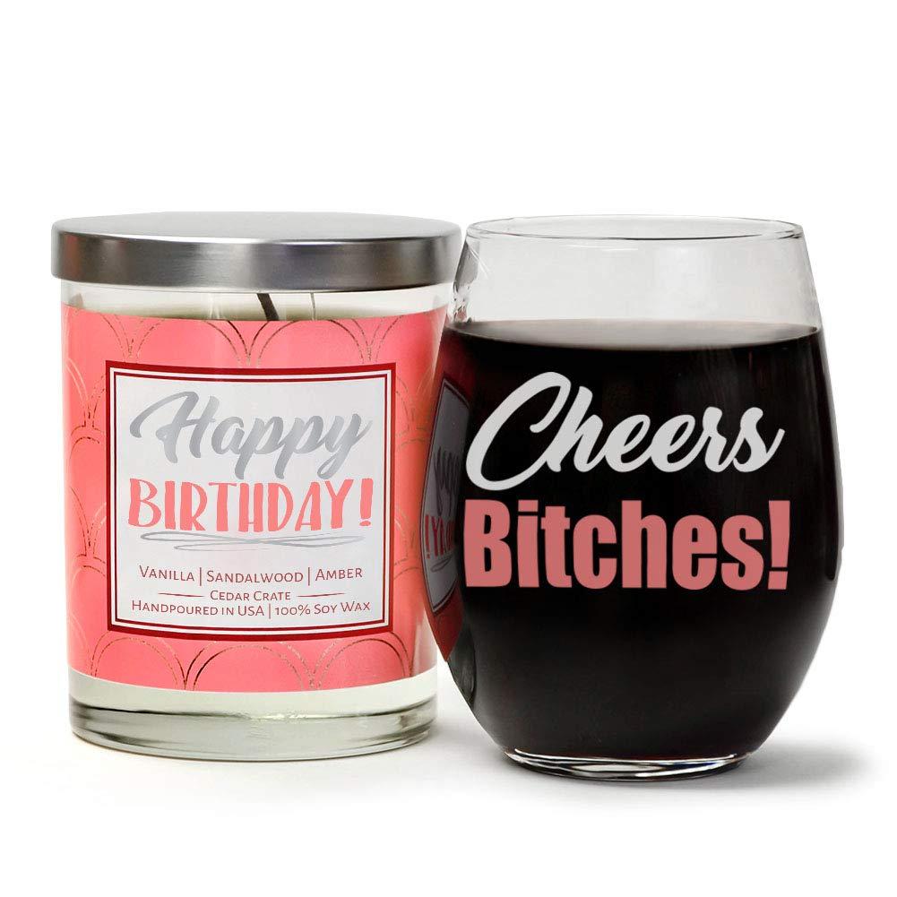 Amazoncom 21 Finally Legal Birthday Candle Gift Set Cute