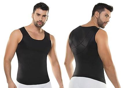 Amazon.com: Fajas Colombianas Para Hombre Camiseta de ...