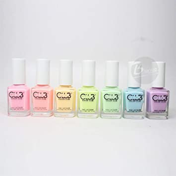 Amazon.com : Color Club Poptastic Pastel Neon Collection 2015 Nail ...