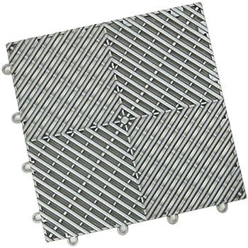 Amazon Modutile Interlocking Modular Garage Flooring Tile Coin Top Pack Black