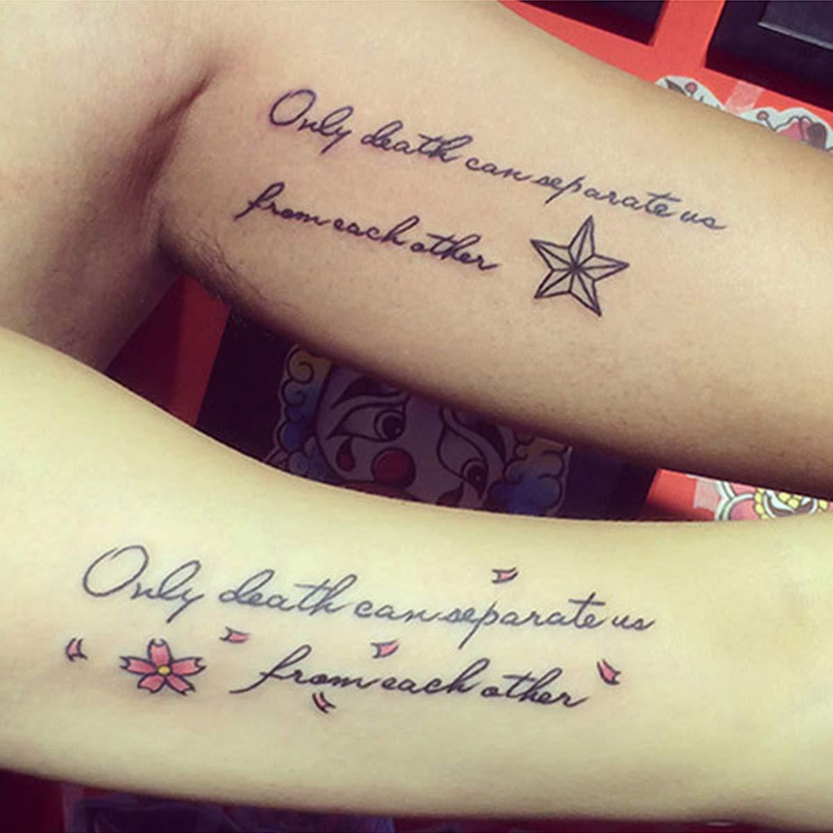 Sexy Palabras Negro Letra temporales tatuaje Calle de hip hop niña ...