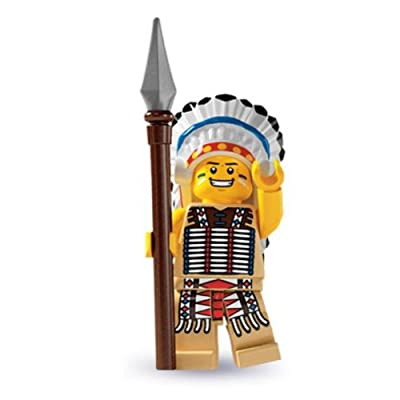 LEGO - Minifigures Series 3 - TRIBAL CHIEF: Toys & Games