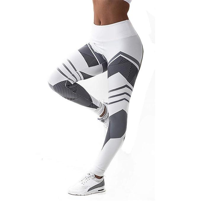 Amazon.com: Hantioo Yoga Pants S-XXXL Plus Size Leggings ...
