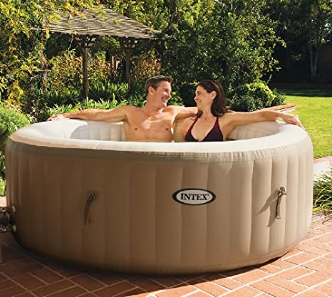 Intex PureSpa Bubble Therapy 4-person Portable Hot Tub