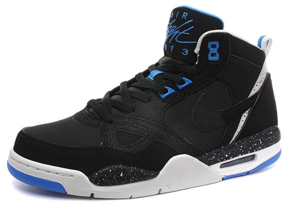 watch f0c4f 0b97b Nike Air Flight 13 Mid Black Mens Trainers Size UK 5.5 Amazon.co.uk Shoes   Bags