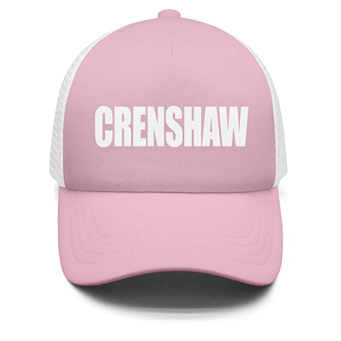 dd9d0b04da407 ASGJRJ Mens Womens Adjustable Personalized Golf nipsey-hussle-Crenshaw-Logo-Crenshaw  Snapback Cap Hat at Amazon Men s Clothing store