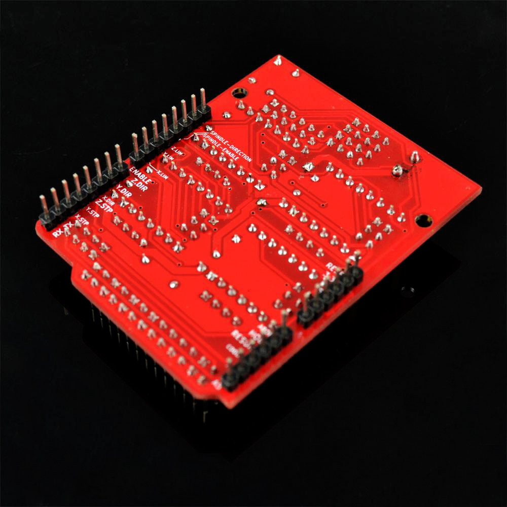 4PCS A4988 Step Motor Driver with Heatsink Kit for Arduino 3D Printer KOOKYE CNC Engraver Shield Expansion Board