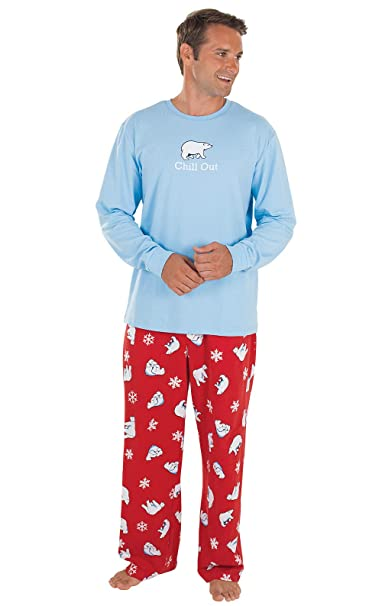 Mens Christmas Pajamas.Pajamagram Novelty Mens Christmas Pajamas Mens Holiday Pajamas Cotton