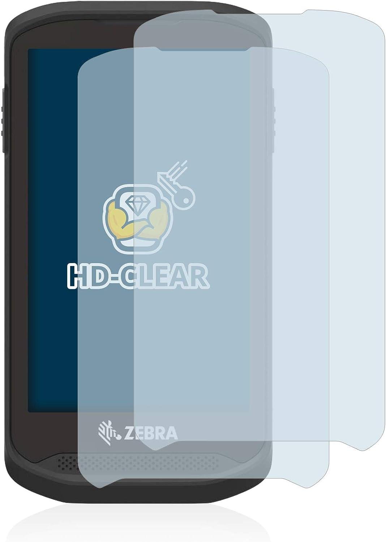 BROTECT Schutzfolie kompatibel mit Zebra TC25 klare Displayschutz-Folie 2 St/ück