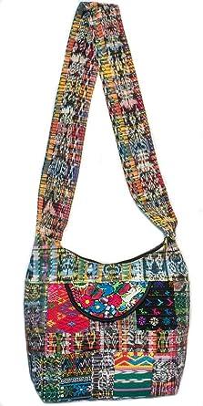 5ec62a7425d3 Amazon.com  Boho Purse Sling Hippie Bag Crossbody Patchwork Hobo Handbags  for Women Long Strap Gym Travel Spacious  Clothing