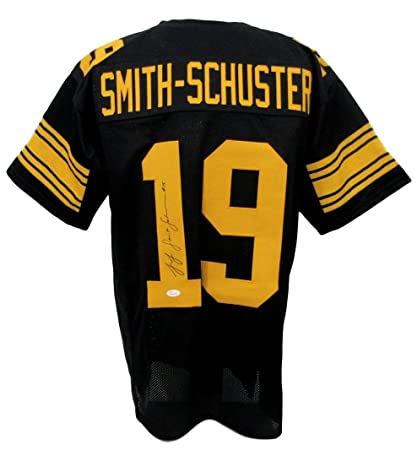 71d2f2194d4 Juju Smith-Schuster Steelers Autographed Signed Color Rush Jersey XL JSA  135397