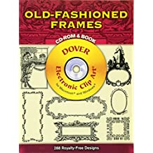 Old-Fashioned Frames CD-ROM and Book