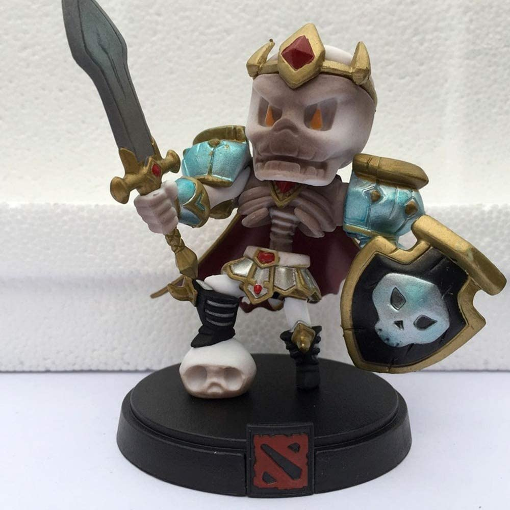 WAVECO Pop Dota Skull King Popular Soul Guard Swordmaster En Caja PVC Modelo Decoración Juguete Estatua Aproximadamente 3.94 Pulgadas: Amazon.es: Hogar