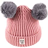 a4727aa0b86 Xshuai Baby Hat for 2-8 Years Old Kids Fashion Newborn Infant Toddler Cute  Winter Warmer Ball…