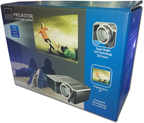 Proyector Micro Proyector LED Proyector Casero HD: Amazon.es ...