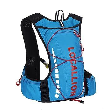 Mochila de Hidratacion 10L Súper Ligero para Ciclismo Senderismo Excursionismo: Amazon.es: Deportes y aire libre