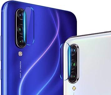 NOKOER Protector Cámara para Xiaomi Mi 9 Lite, [2 Pack] Protector de Pantalla Cámara, 2.5D Película de Protección de Vidrio Templado Resistente a Los Arañazos: Amazon.es: Electrónica