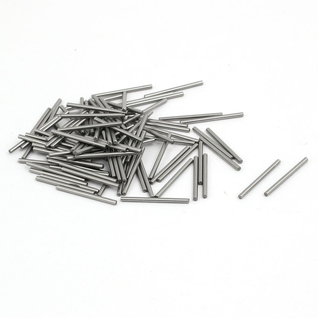 sourcingmap® 2mmx16mm Metal Parallel Dowel Pins Fasten Elements Silver Tone 100pcs US-SA-AJD-212859
