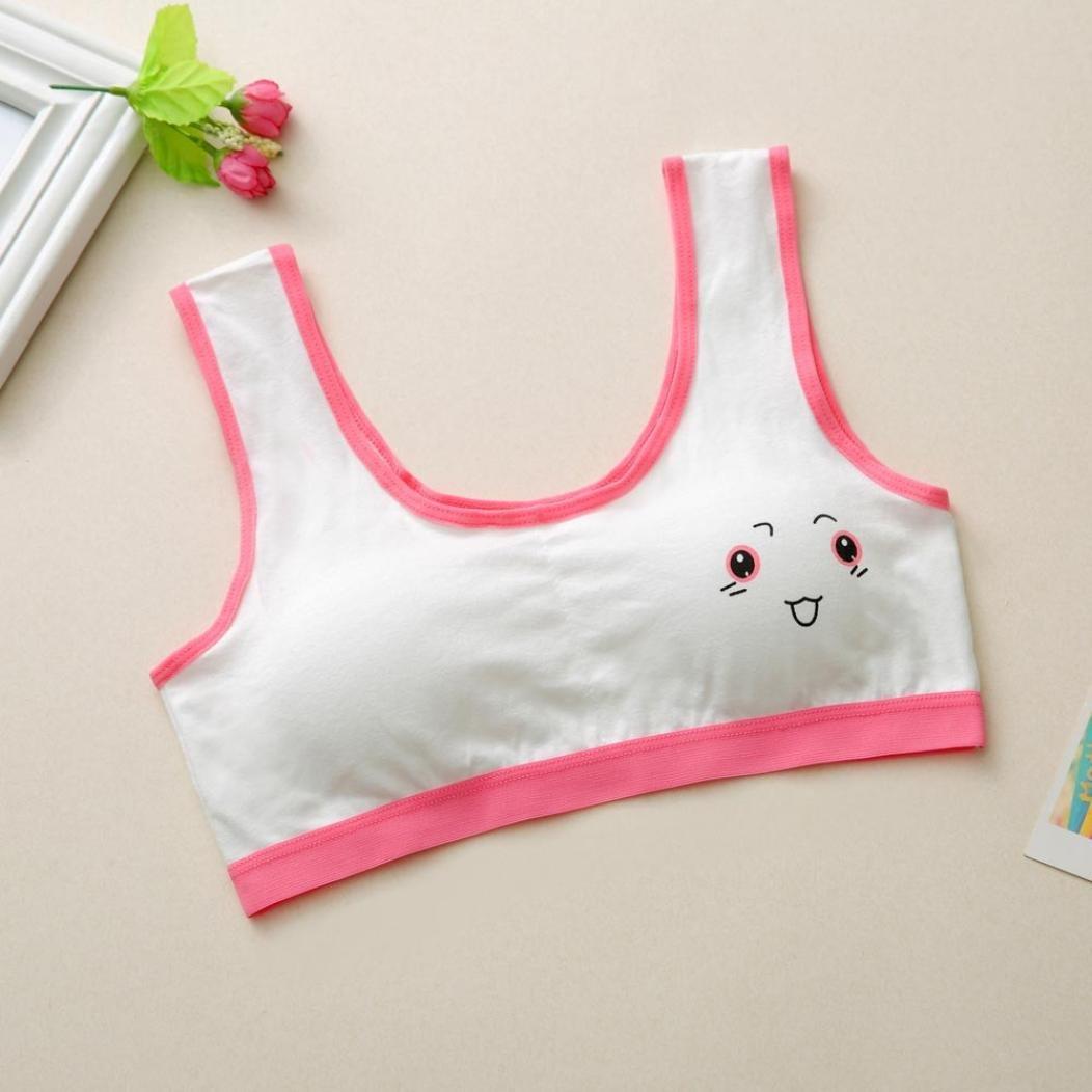Hunpta Neue Lovely Girls Printing Unterw/äsche BH Weste Kinder Unterw/äsche Sport Undies
