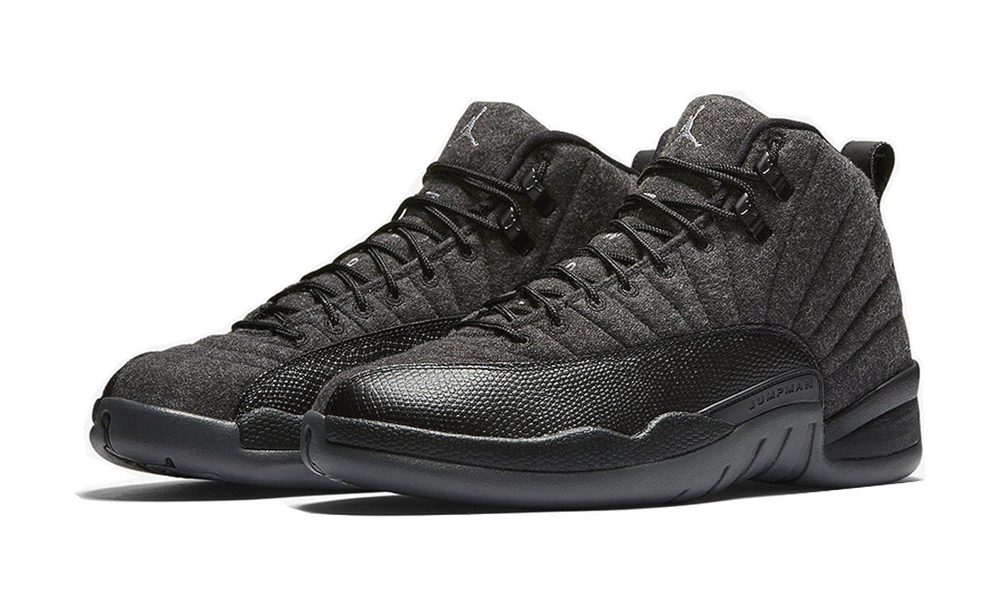04652dc137df Foot Locker House of Hoops Air Jordan 12 Wool Dark-Grey/Metallic  Silver-Black 852627-003 October 1, 2016 Release Shoe Size (8): Amazon.ca:  Shoes & Handbags