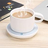 Calentador de tazas, café, té, leche, bebida, escritorio