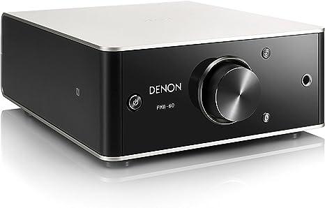 Amazon   デノン Denon PMA-60 プリメインアンプ USB-DAC搭載/ハイレゾ音源対応/ヘッドフォンアンプ搭載 アンプ  プレミアムシルバー PMA-60-SP   デノン(Denon)   家電&カメラ