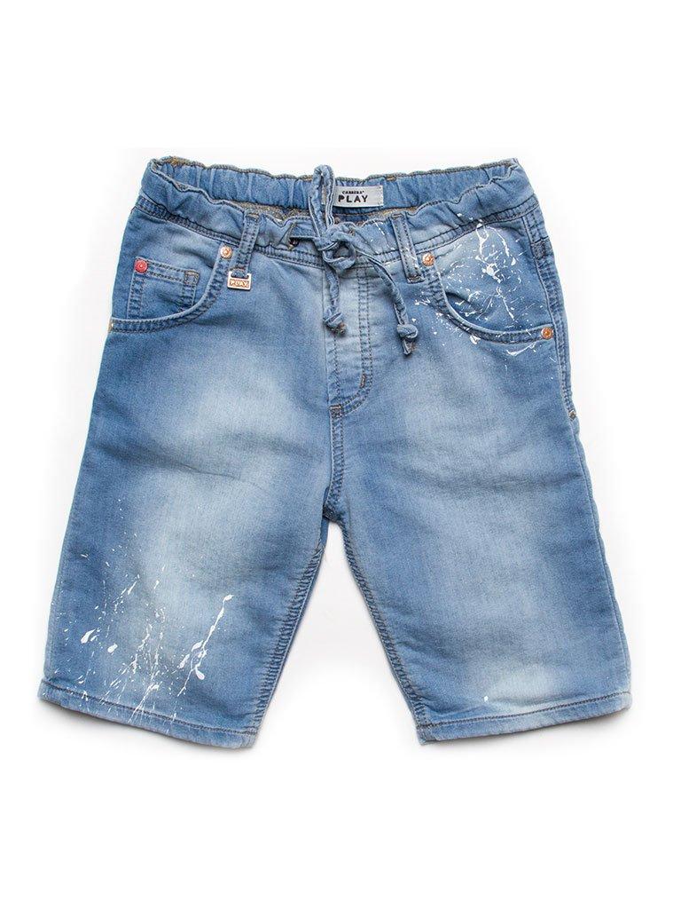 Carrera Jeans - Bermuda 730 per bambino, tessuto elasticizzato, vestibilità normale, vita regular