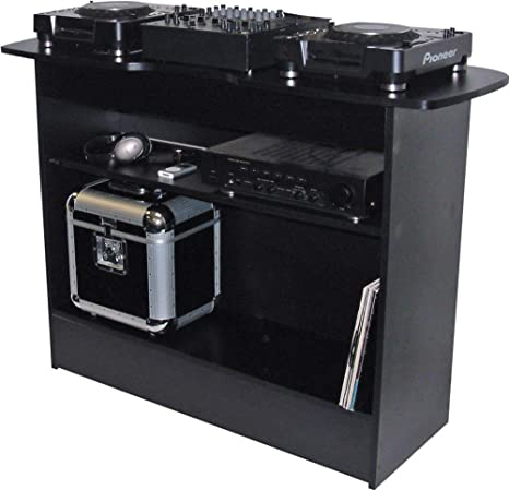 Sefour - Soporte para mesa de DJ (X10), color negro: Amazon.es ...