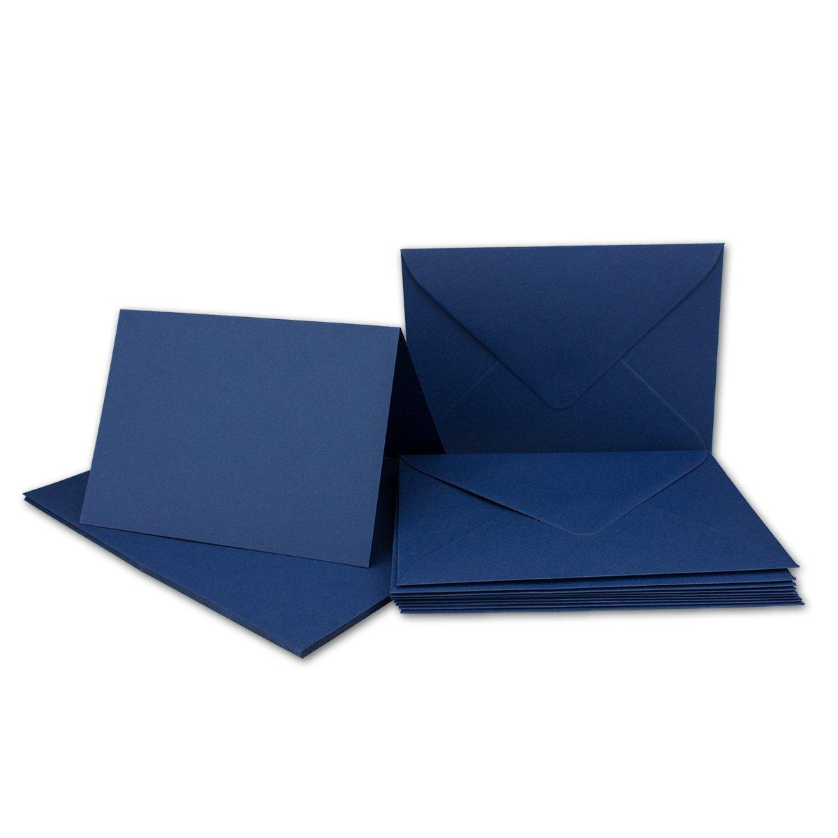 FarbenFroh/® von Gustav NEUSER/® DIN A6 // C6-14,8 x 10,5 cm Premium Qualit/ät 20x Faltkarten Set mit Brief-Umschl/ägen Amarena-Pink