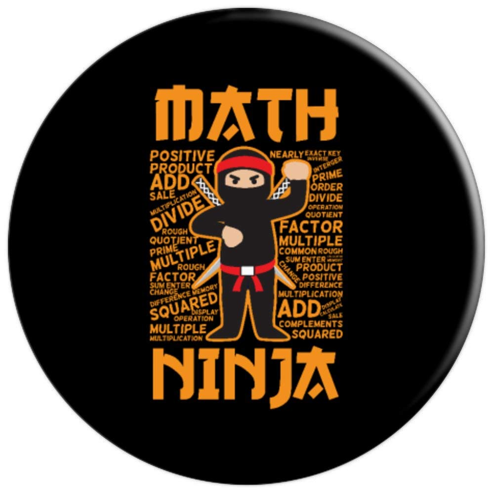 Amazon.com: Funny Math Ninja Gift Grip Idea For Maths ...