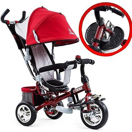 GHDE& Triciclo Trike para niños con Sun Canopy y Desmontable ...