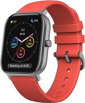 Comprar Amazfit GTS Smartwatch Fitness tracker con multitud de perfiles de actividad físcia y con GPS embebido, resistencia al agua 5 ATM (Rojo)