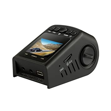 KINGMAK registradores de vuelo con GPS, cámara espía escondida coche Bien fecha Ambarella A7LA50D HD