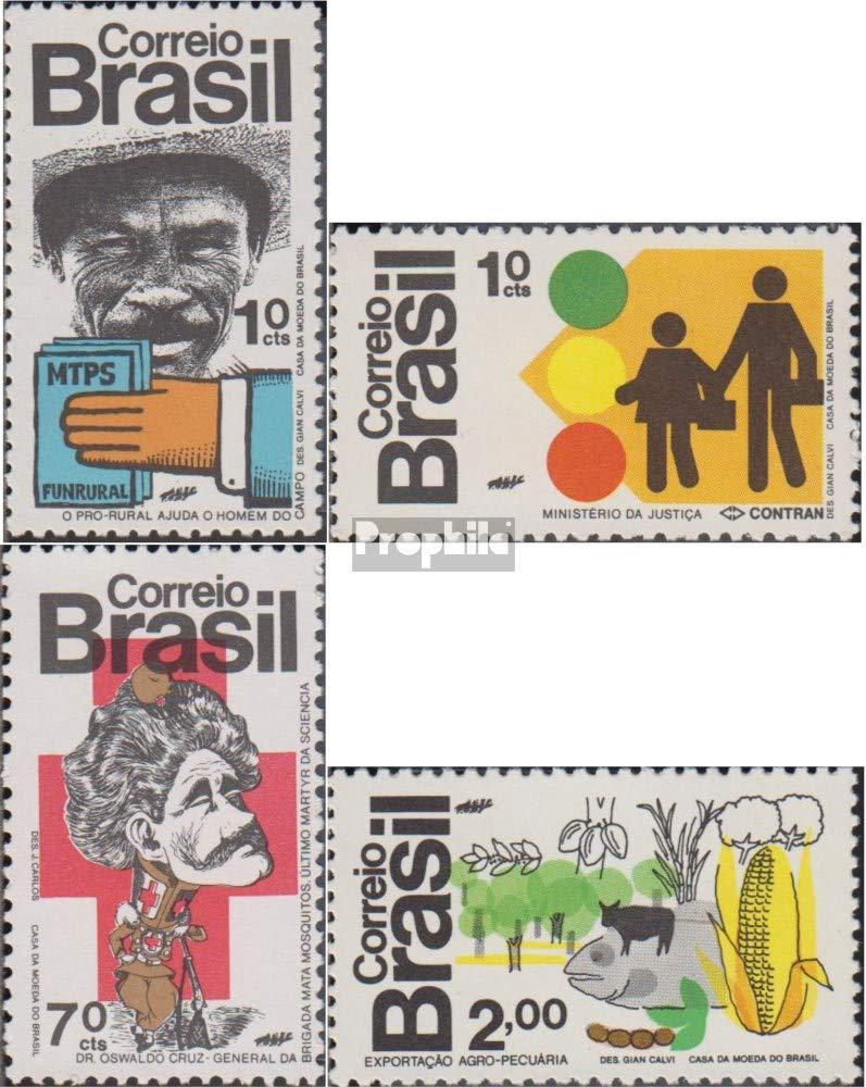 Prophila Collection Brasilien 1352-1355 (kompl.Ausg.) 1972 Das Land und der  Herrench (Briefmarken für Sammler)
