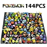 New Cute 144 pcs Pokemon Monster Mini figure 2-3cm in Random